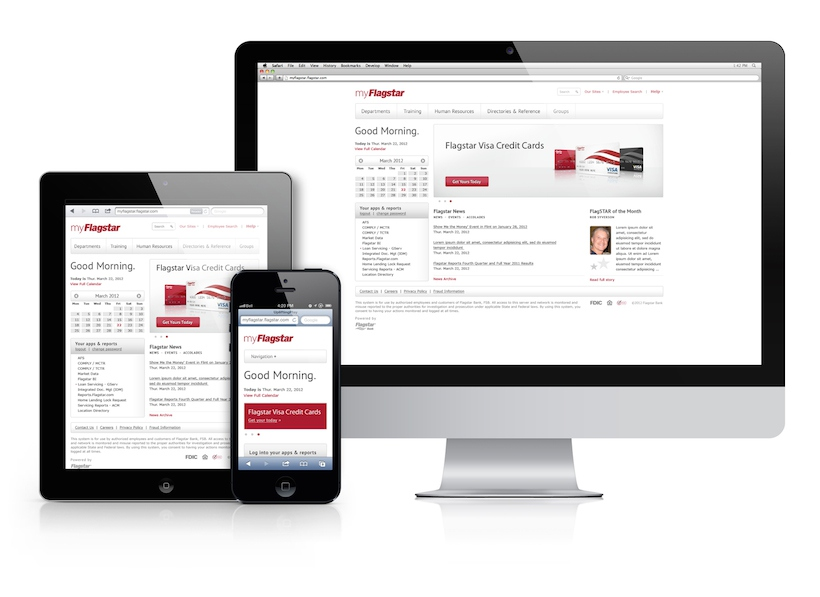 UI Design Corporate Intranet