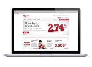 Financial Website Redesign Troy Michigan